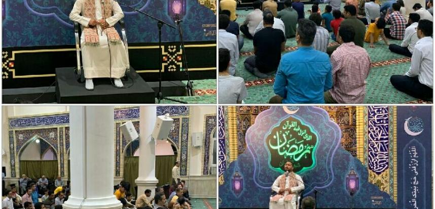 برگزاری محافل  انس با قرآن کریم در سطح جزیره در مناسبت های خاص