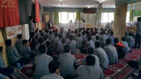 اجرای گروه سرود بین المللی سروش وحی در مدارس کیش 20تا 23 آذر ماه