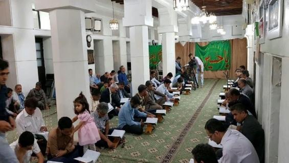 برگزاری مراسم جزء خوانی و محافل قرآنی ویژه ماه مبارک رمضان