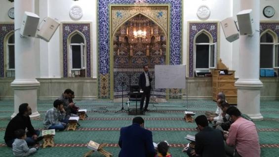 برگزاری کارگاههای قرآنی ویژه آقایان  و دوره تربیت مربی قرآنی