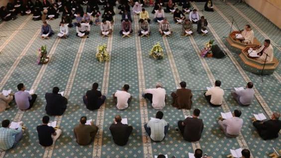برگزاری محفل جزء خوانی قرآن کریم به مناسبت ماه رمضان در جزیره زیبای کیش