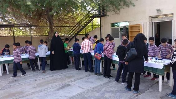 برگزاری کارگاه تصویرسازی آیات ویژه دانش آموزان مدارس